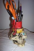 pencil holder by Rick Pelletier