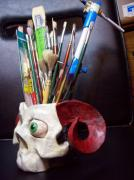 Brush Holder by Rick Pelletier