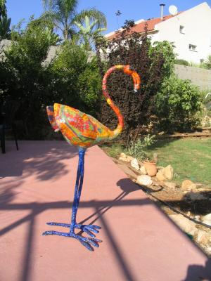 """Flamingo  No. 1"" by Eugenio and Nidia Klein"