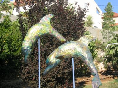"""My two dolphins"" by Eugenio and Nidia Klein"