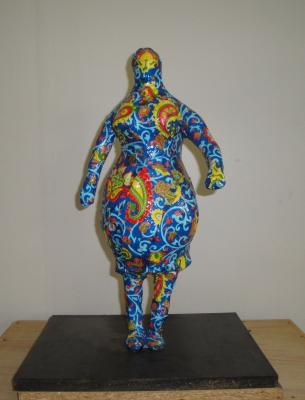 """Homenaje a NIKI DE SAINT-PHALLE"" by Eugenio and Nidia Klein"