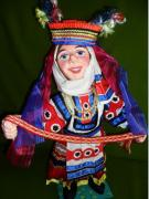 Matchmaker in the Belarusian national costume by Nadezhda Razvodovskaya