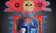 Paper Mache Mask by Diego Marcial Rios
