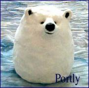 Portly the Polar Bear by Pat Little