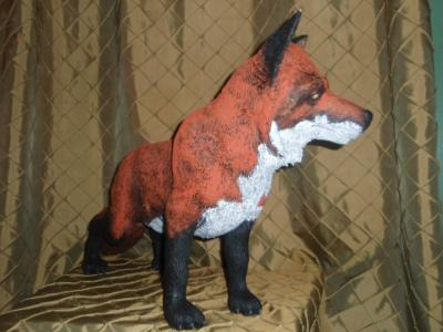 """Red fox"" by Marilyn Kalbhenn"