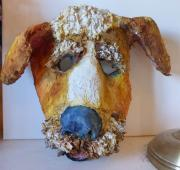 Dog Mask by Maure Bausch