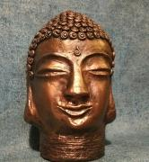Buddha head by Roxana Garagaianu