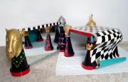 chess table by Frida  Abramsky