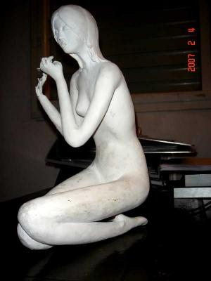 """flutist"" by Frida  Abramsky"
