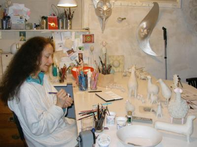 """My studio"" by Nives Cicin-Sain"