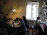 workshop at my home by Nives Cicin-Sain